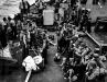 Normandia, 6 VI 1944 rok- Oddziały 1 Dywizji oczekujące na barki desantowe.