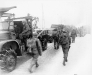 Belgia, 31 I 1945 rok- 3 Batalion 26 Pułku zmierza w kierunku Murringen.