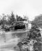 Niemcy, 15 II 1945 rok- Transporter 16 pułku przekraczający Las Hurtgen.