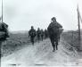 Niemcy, 25 II 1945 rok- Kompania A 1 Batalionu 16 Pułku w okolicy Kufferath, zmierza ku przeprawie przez rzekę Roer.