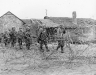 Niemcy, 25 II 1945 rok- Kompania B 1 Batalionu 16 Pułku zmierza z Schneidhausen w kierunku przeprawy na Renie.
