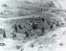 Tunezja, 21 III 1943 rok- Kompania D 18 Pułku okopuje się na wzgórzach na południe od El Guettar.