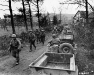 Niemcy, 28 II 1945 rok- Kompania C 1 Batalionu 18 pułku w Frauwullesheim.