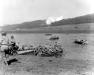 Niemcy, 8 IV 1945 rok- 16 pułk przekracza rzekę Wezerę by zdobyć Furstenberg.
